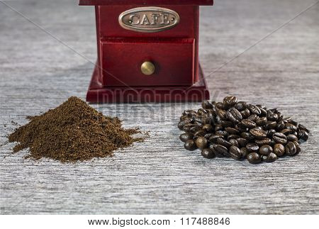 Coffee Ginger And Coffee Beans