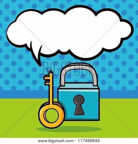 Lock Doodle