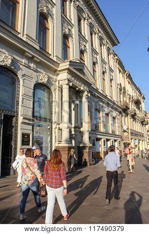 Passage Building On Nevsky Prospect.