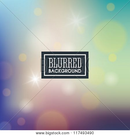 Blurred background graphic