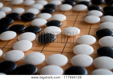 White Territory In Go Game