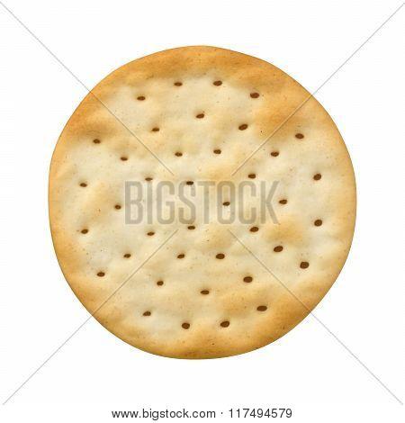 Single Round Water Cracker