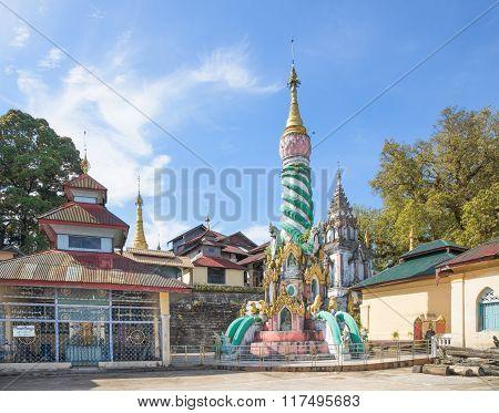Buddhist Temple In Myeik, Myanmar
