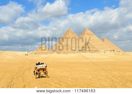 Giza Pyramids - Cairo, Egypt