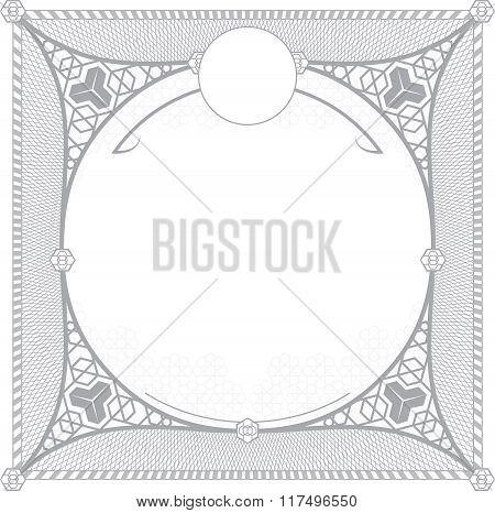 Turkish pattern for invitation design