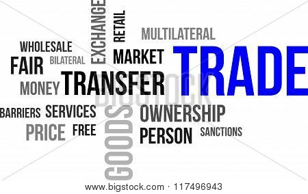 Word Cloud - Trade