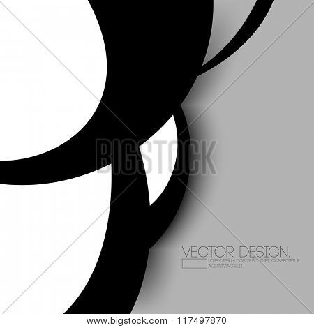 black concept clean material corporate background