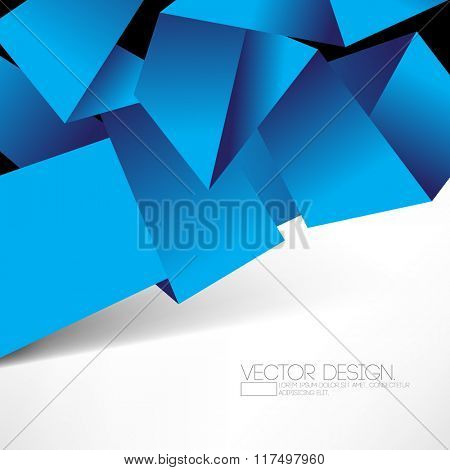 origami inspired folded paper elements corporate design