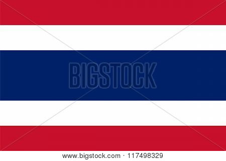 Standard Proportions For Thailand Flag