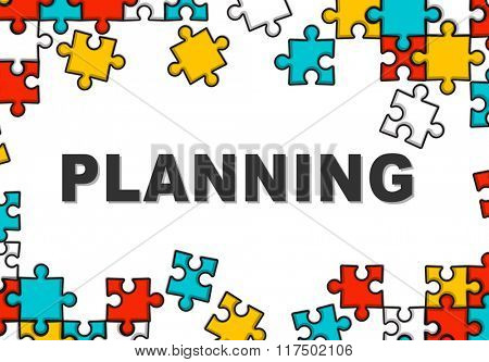 Planning Plan Design Solution Strategy Process Concept