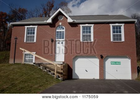 Multi Level Brick Home