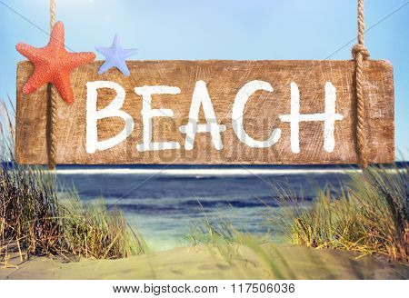 Beach Summer Tropical Travel Vacation Outdoor Coast Concept