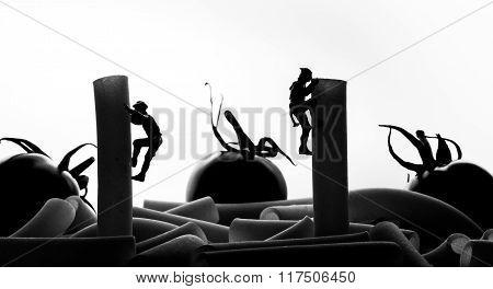 pasta climbers