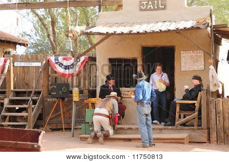 Old Western Gunfighters