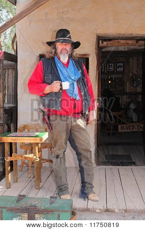 Old Cowboy Gunfighter
