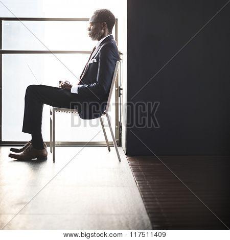 Businessman Connection Confidence Modern Concept