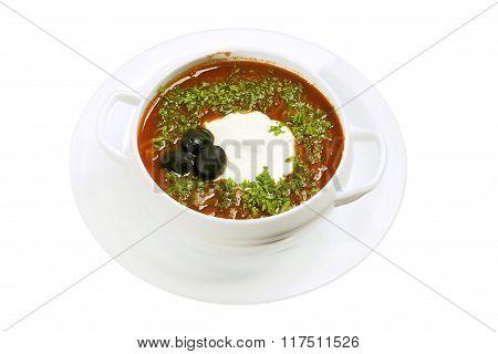 Solyanka Soup.