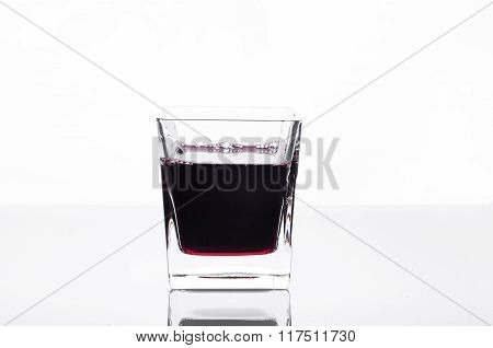 Glass Of Blackcurrant Juice