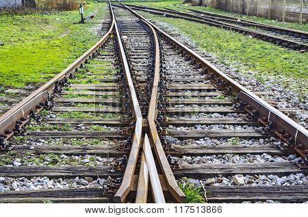 Intersection Railroad Tracks