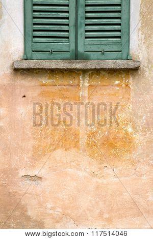 Azzate Window  Varese Italy Abstract       Orange