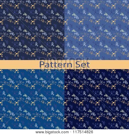 Set Of Patterns With Blobs
