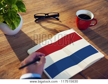 Netherland Country Flag Liberty National Concept
