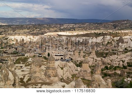 Cappadocia. Turkey. Goreme Town.