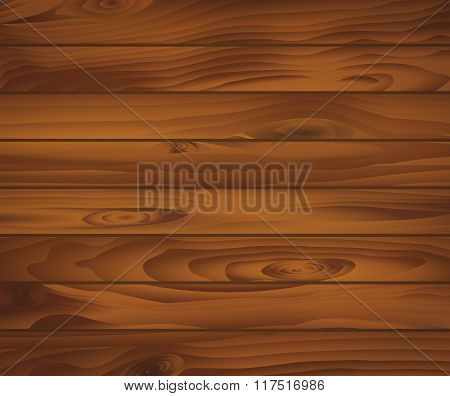 Wooden texture of dark brown boards. For natural background design. For interior or construction des