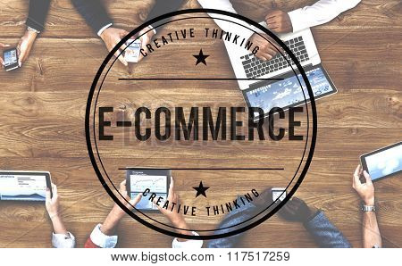 E-Commerce Digital Email Internet Technology Concept