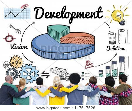 Development Improvement Vision Innovation Growth Concept