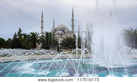 Blue Mosque. Istanbul, Turkey