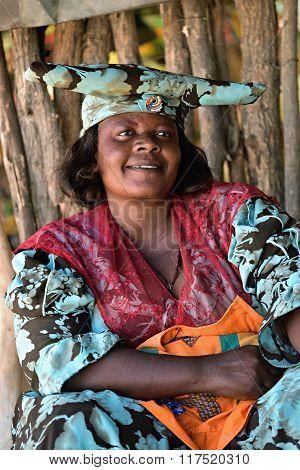 Herero Woman, Namibia