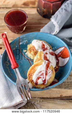 healthy breakfast cheesecakes