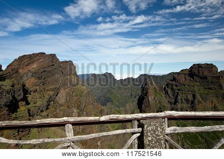 Mountain View, Trekking in Madeira