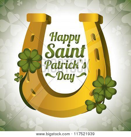 Happy Saint Patricks day design