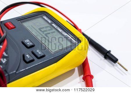 Digital meter.