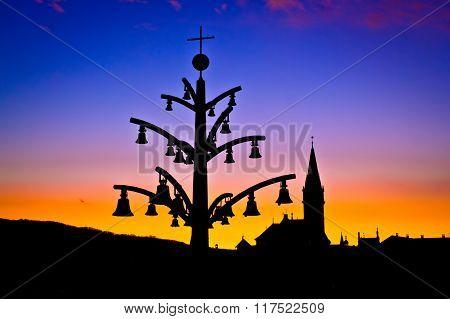 Marija Bistrica Marian Shrine Architecture Silhouette