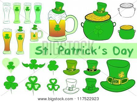Clipart of a St. Patrick's Day