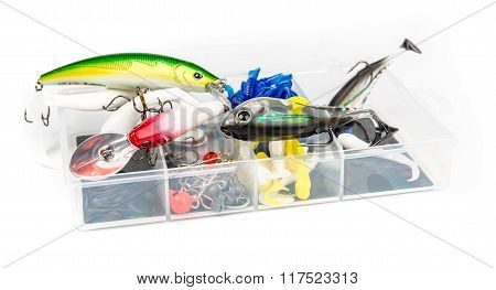 Fishing baits set
