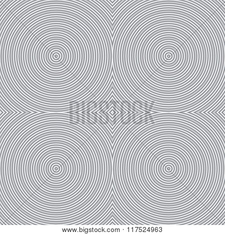 Seamless abstract striped background - embossed surface circle.