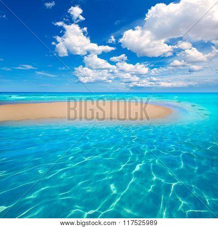Fuerteventura Jandia Beach Sotavento at Canary Islands of Spain