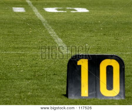 Football Ten-yard Line