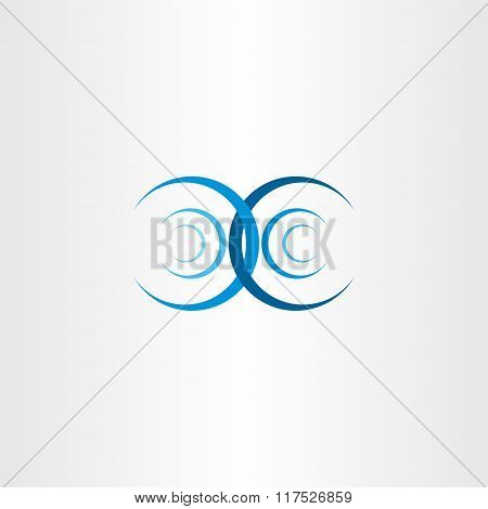 Water Wave Interference Collision Vector Icon