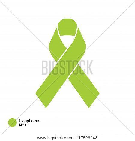 lymphoma ribbon vector