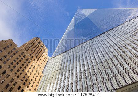 World Trade Center Freedom Tower In New York City