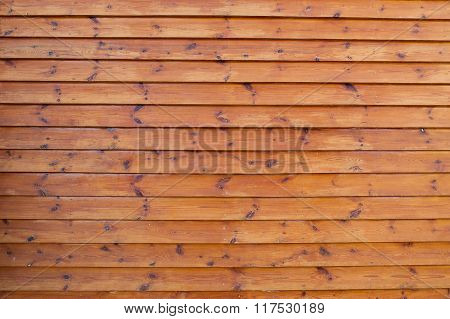 Big Brown Wood Plank On Wall Texture Background