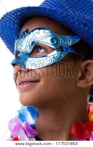 Brazilian children at the Carnival in Brazil