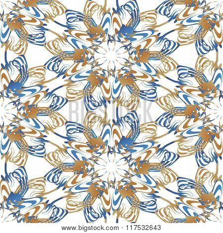 seamless pattern with clipping path