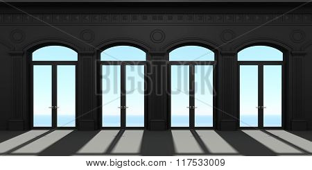 Four Arched Door