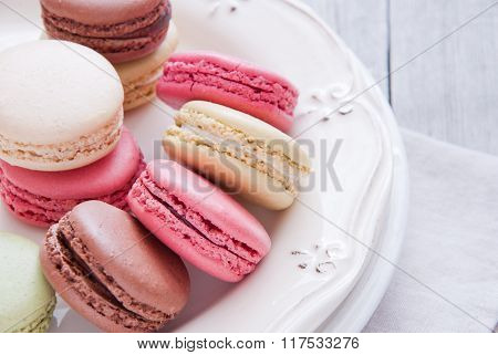 french pastries macaron